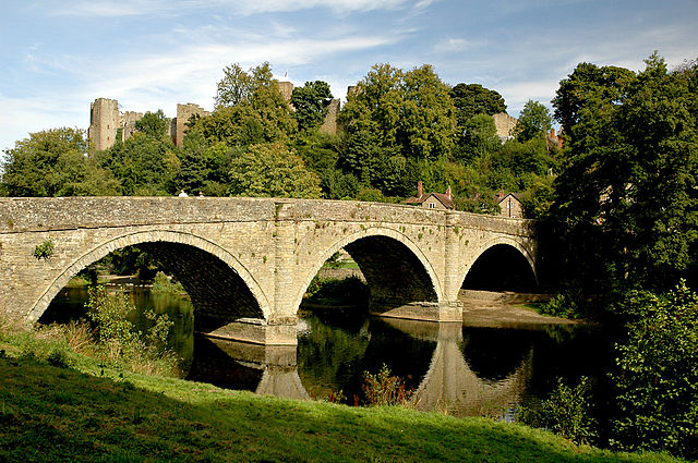 Ludlow bridge by Newton