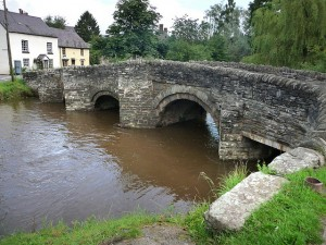 Clun Bridge by Chris Gunns